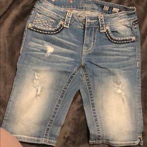 Knee high Miss me jeans